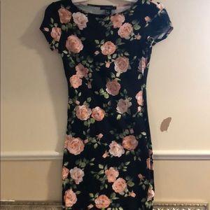 Forever 21 flowery mini dress